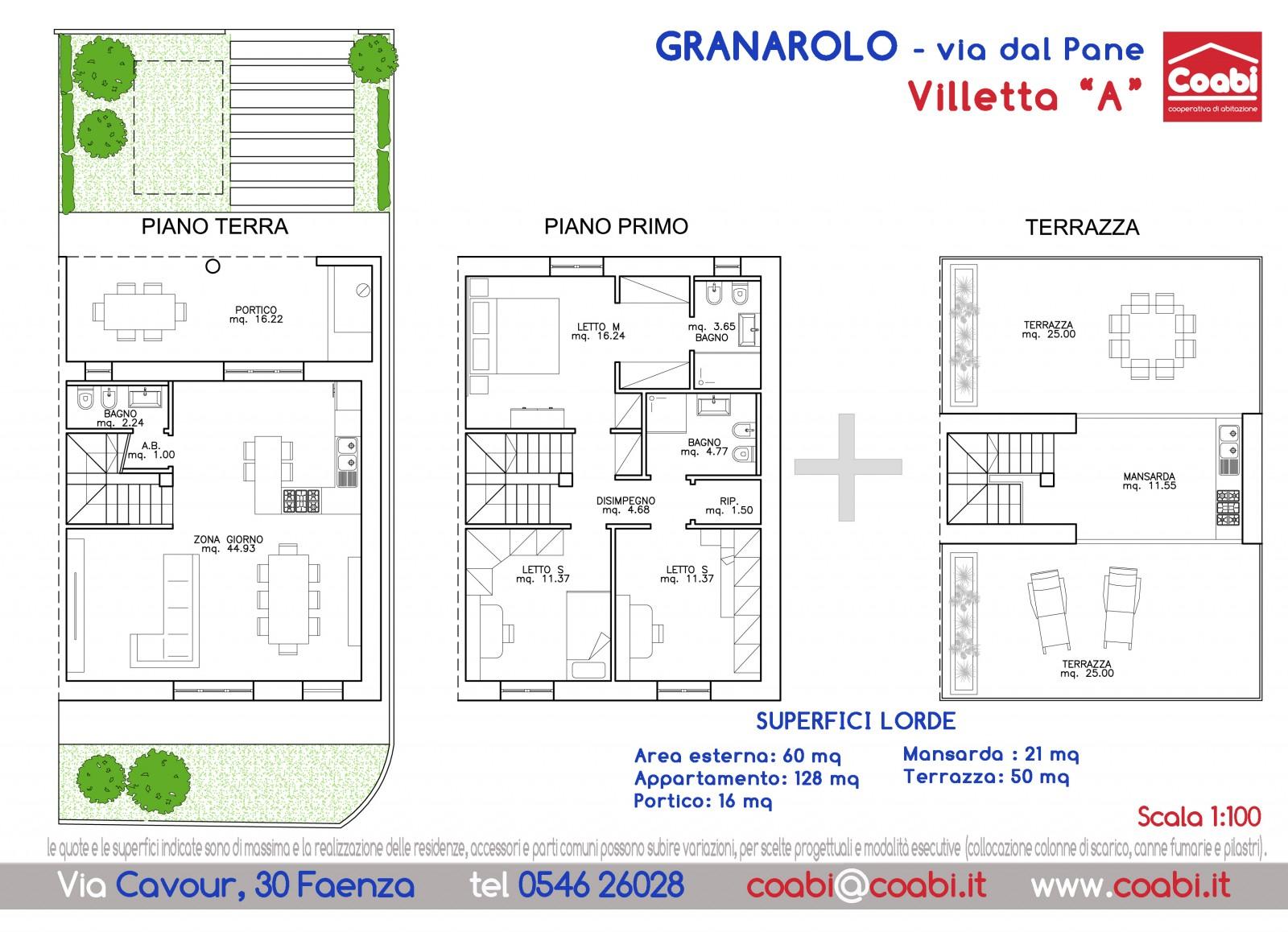 Cooperativa co abi faenza assegnazione appartamenti for Planimetrie a un piano aperto