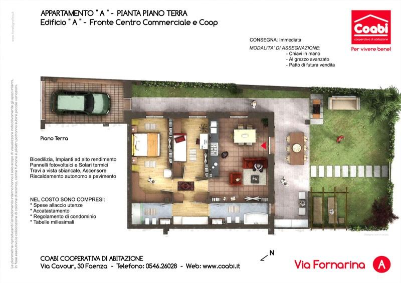Cooperativa co abi faenza assegnazione appartamenti for Planimetrie di case personalizzate